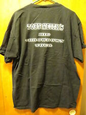 "Toby Keith ""Big Throwdown Tour"" 2004 Local Crew Rare T Shirt Xl Black"