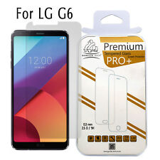 100 Gorilla Tech Genuine Tempered Glass Film LCD Screen Protector for LG G6