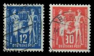 DDR 1949 Nr 243-244 gestempelt X2558C6