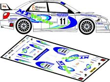 DECALS 1/43 SUBARU IMPREZA WRC- #11 - McKINSTRY -RALLYE LURGAN PARK 2011- D43150