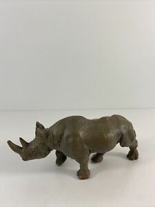 Papo 2008 Rhinoceros Toy Figure  Made In China