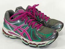 Asics Gel Nimbus 15 Women's 7.5 Pink/Green - t3b5n kayano kinsei 16 17 18 20 21
