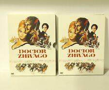 Doctor Zhivago (DVD, 2001, 2-Disc Set) David Lean AUTHENTIC REGION 1