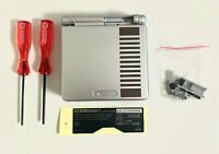 Replacement Housing for Nintendo GBA Game Boy Advance SP Shell Gray NES