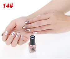 Metallic Metal Nail Polish Magic Mirror Effect Chrome Nail Art Polish Varnish