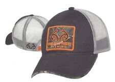 REALTREE FISHING MESH Back Hat w/ Xtra Green Camo Patch w/ Embroidered Logos