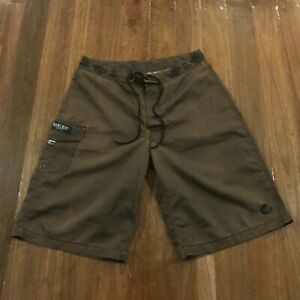 Reef Clothing Company Australia Brown Casual Mens Boardies Board Shorts Size 32