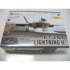 "Kitty Hawk KH80132 1/48 F-35C ""Lightning II"" Fighter Model New"