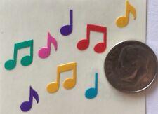 COLOR MINI MUSIC NOTE Sticker(32pc) Mrs.Grossman's•Instrument•Sing•Symbol •Lyric
