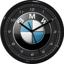 "12"" BMW Wall Clock Garage Work Shop Gift  Man Cave Rec Room"