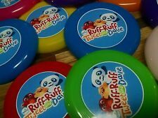 12 RUFF RUFF, TWEET and DAVE mini frisbees birthday party favors, treat loot toy