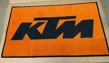 KTM motorcycle dirtbike ATV logo door mat