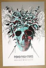 FOO FIGHTERS ADELAIDE SONIC HIGHWAYS  2015 POSTER LTD 350 not cd shirt vinyl