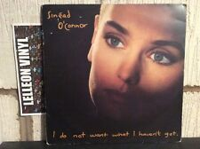 Sinead O'Connor I Do Not Want What I Haven't Got. LP Album CHEN14 Pop 90's