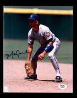 Mark Grace PSA DNA Coa Hand Signed 8x10 Photo Autograph