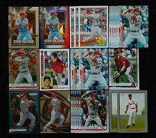 (25) PAUL GOLDSCHMIDT Card Lot! Prizm, Select, Insert, Chrome CARDINALS