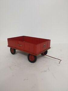 1/16 Eska Vintage Toy McCormick IH Flat Bed Barage  Wagon
