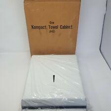 Marathon Kompact Towel Cabinet Paper Towel Dispenser No. 842 White w/Box Unused