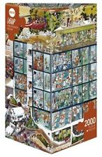 Puzzle hy25784 - HEYE PUZZLES triangulaire 2000 PC urgence chambre, loup