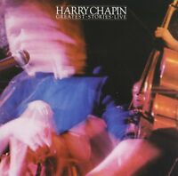 HARRY CHAPIN - GREATEST STORIES : LIVE CD ~ W.O.L.D. ~ CATS IN THE CRADLE *NEW*