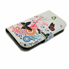 Card Slot Leather Pocket Stand Flip Case Cover For Samsung Galaxy Mobile Phone