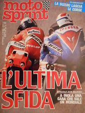 Motosprint 35 1983 Test Aprilia Filo G4L - Freddie Spencer Kenny Roberts [SC.31]