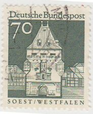 (G582) 1964 GERMAN 70pf German architecture ow1371a