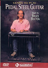 Learn To Play Pedal Steel Guitar Lesson BOUTON DVD LESSON SCALES CHORDS PEDAL