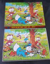 Paperino Walt Disney Puzzle anni 70