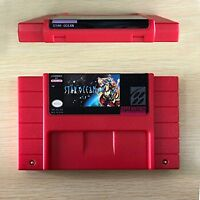 Star Ocean Game Card Console US Version For Nintendo SNES 16 Bit Eng