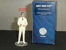 CORGI ICON F04051 JAMES BOND OO7 FILM SCARAMANGA CHRISTOPHER LEE METAL FIGURE