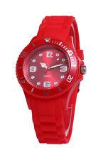 sv24 Trend Armbanduhr Silikon Watch Uhr Damen Herren Bunte Farbige Quarz Uhren