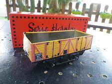 HORNBY HACHETTE O série M WAGON TOMBEREAU SNCF marron neuf en boite