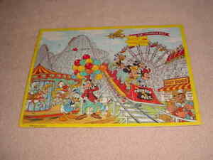 Walt Disneys, CHARACTERS AT THE FAIR  Jaymar Frame Tray Puzzle (NEW)