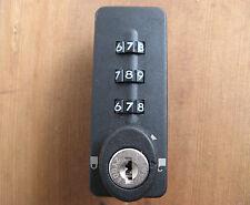 NOS SUDHAUS COMBI-CODE 1157 CABINET LOCK Combination/Master Key VERTICAL  HAFELE
