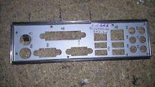 Panneau shield i/o ECS MCP61SM-AM REV 1.0 plaque arriere