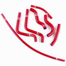 Fit 2000 2001 2002 2003 2004 Honda CR125R CR125 Silicone Radiator Hose Kit Red