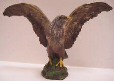 """Antique Composition Toy Eagle Figure 5 1/4"""" Tipple-Topple Austria 1920s"""