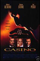 Casino FRIDGE MAGNET 6x8 Robert DeNero Magnetic Movie Poster