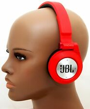 JBL E40BT RED Synchros Bluetooth Folding Stereo Headphones w/Mic iPhone 6+/5s -C