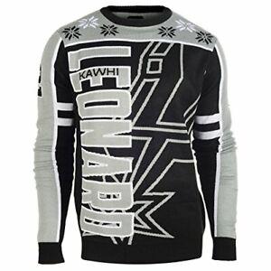 KLEW NBA Men's San Antonio Spurs Kawi Leonard #2 Ugly Sweater