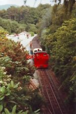 PHOTO  1991 DEVIL'S BRIDGE RAILWAY STATION AND GIFT SHOP. ON THE VALE OF RHEIDOL
