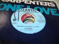 Soul Promo 45 SPINNERS Heaven On Earth (So Fine) on Atlantic (promo)