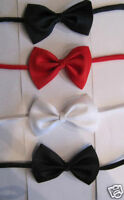 boys kids Bow Tie red black blue childrens's age 1 - 4 years new