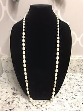 42/'/' freshwater Cultured Pearl/&Rose Quartz/&Amethyst Necklace Great