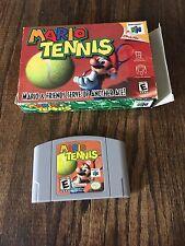 N64 Mario Tennis CIB Nintendo 64 NCIB