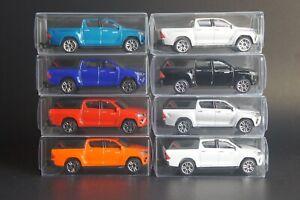 Majorette Toyota Hilux Revo Cars Set of 8 [Loose packs] [1/58]