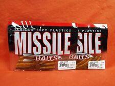 MISSILE BAITS NED BOMB (10PK) BAMER CRAW MBNB325-BMC (2PK'S)