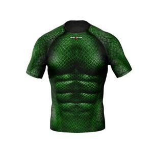 HighType Dragon Skin Rash Guard or Leggings MMA BJJ Fightwear