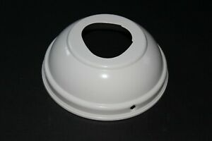"""Hunter Ceiling Fan Canopy Replacement Part WHITE 6 1/2"""" Diameter"""